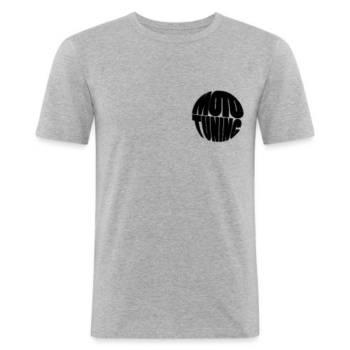 MotoTuning Black - Men's Slim Fit T-Shirt