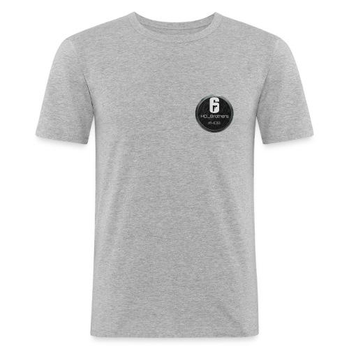 #HDB HD_Brothers Logo - Männer Slim Fit T-Shirt