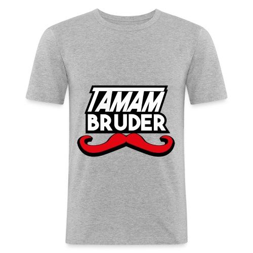 Tamam Bruder - Männer Slim Fit T-Shirt