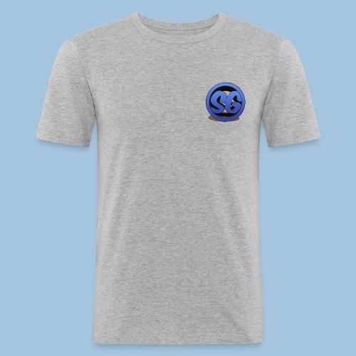 SompigGames Logo Vernieuwd - slim fit T-shirt