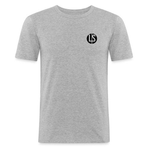 LS by luc swarbrick - Men's Slim Fit T-Shirt