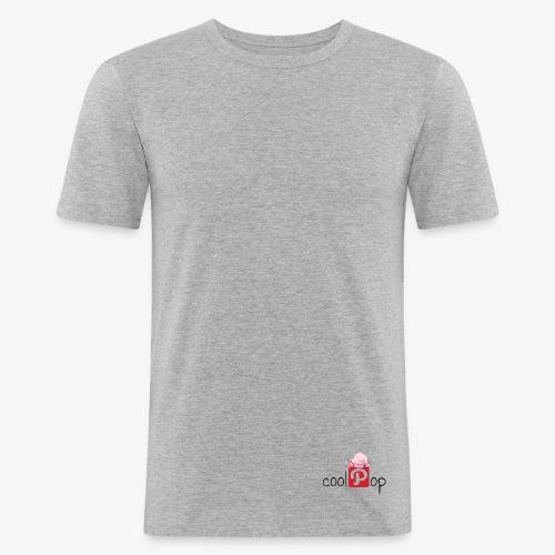 coolpop Logo - Camiseta ajustada hombre