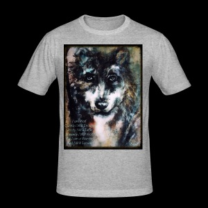 wolf - slim fit T-shirt