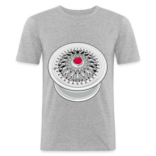 Vintage wheel - T-shirt près du corps Homme