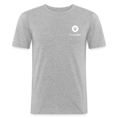 Königstiger Square - Männer Slim Fit T-Shirt