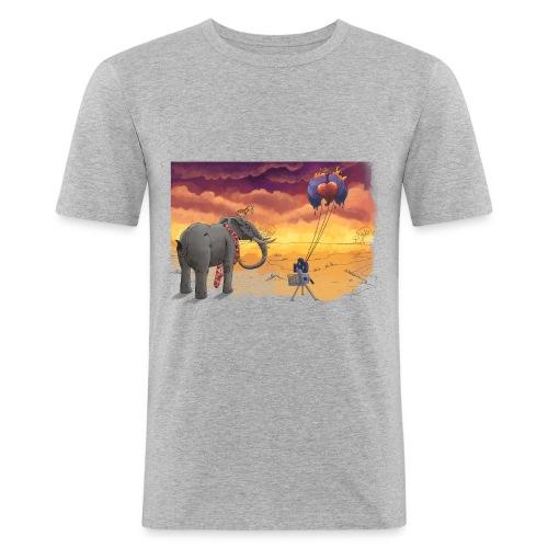 Savanna - Männer Slim Fit T-Shirt