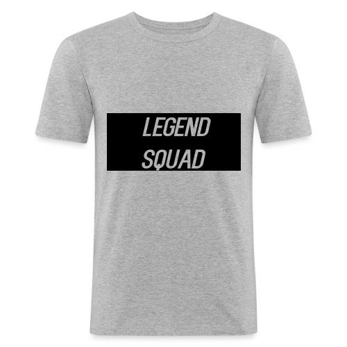 Legend Squad Logo - Men's Slim Fit T-Shirt