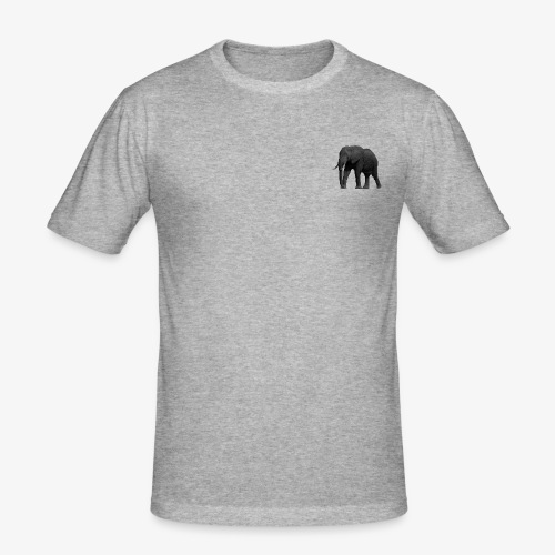 Reel elephant - T-shirt près du corps Homme