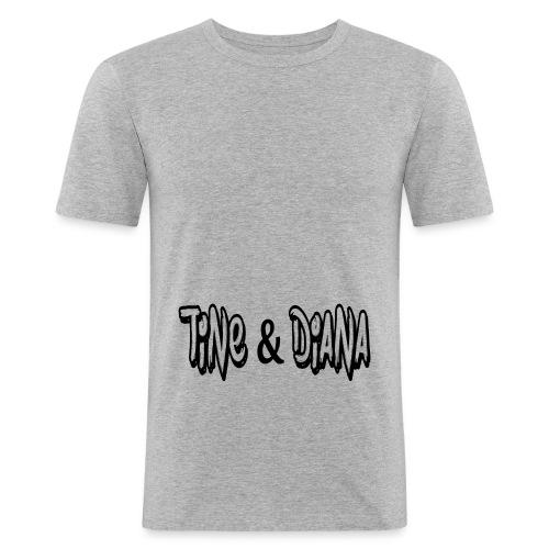 Tine und Diana - Männer Slim Fit T-Shirt