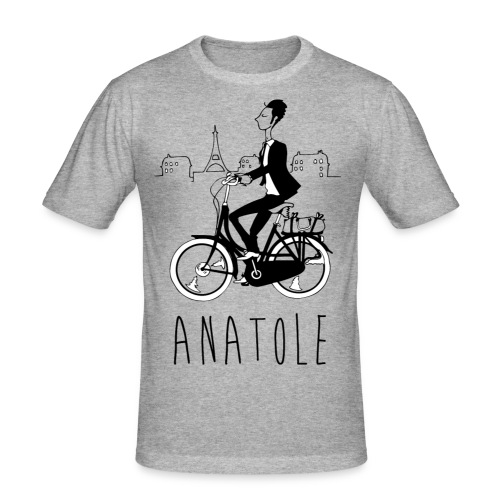 Anatole, Parisien en cavale - T-shirt près du corps Homme