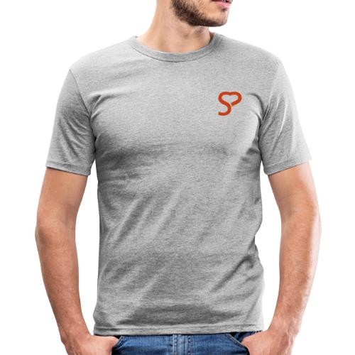 Münchner Singles Lifestyle Collection - Männer Slim Fit T-Shirt
