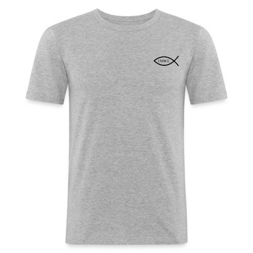 IXOYE - T-shirt près du corps Homme