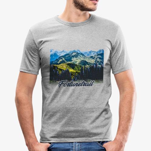 Weitsicht - Männer Slim Fit T-Shirt