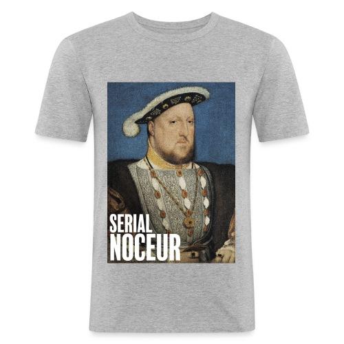 Henri VIII Tudor, un serial noceur - T-shirt près du corps Homme