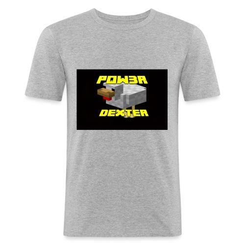 Pow3r canale-gaiz-maglia- speciale edizione - Maglietta aderente da uomo