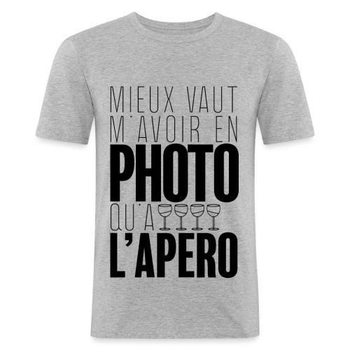 Apérophile - T-shirt près du corps Homme