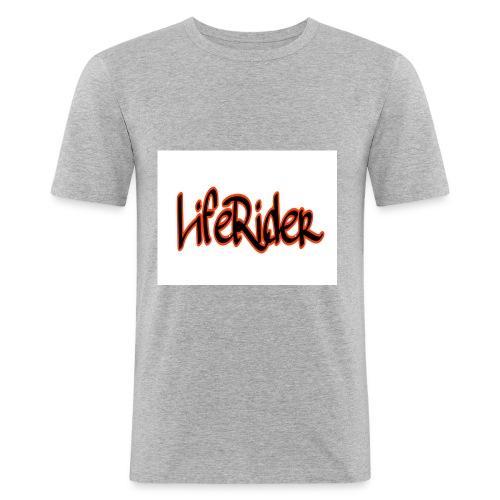 LifeRider - Männer Slim Fit T-Shirt