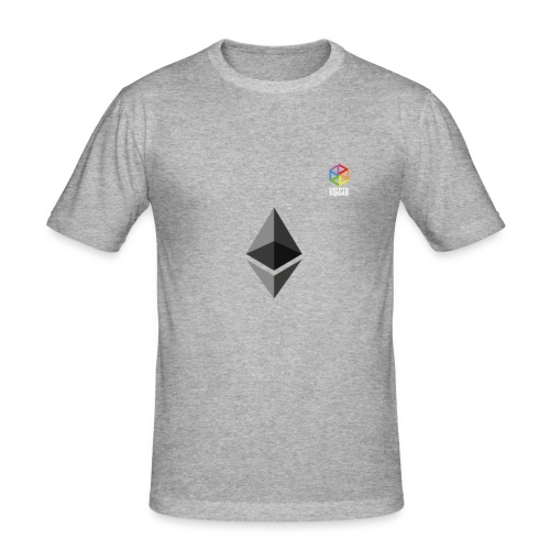 Ether love Crypto Squad - Men's Slim Fit T-Shirt