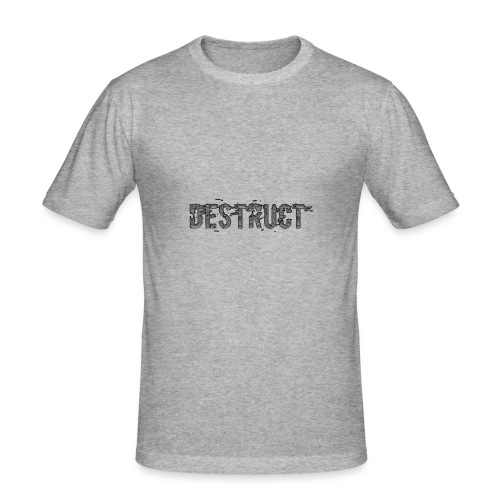 Destruct - Männer Slim Fit T-Shirt