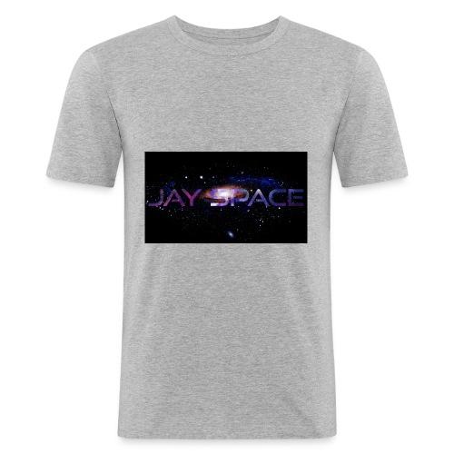 Jay Space - Miesten tyköistuva t-paita
