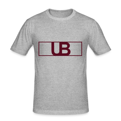 UrbanBrand Logo - Obcisła koszulka męska