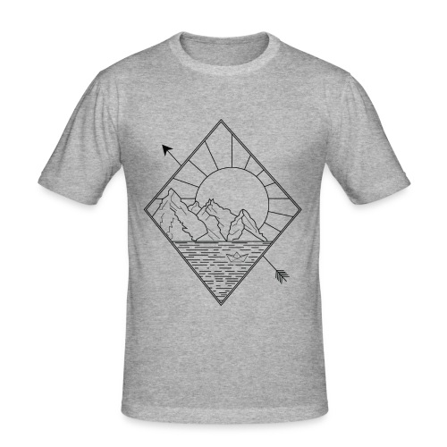 Alaska - Männer Slim Fit T-Shirt