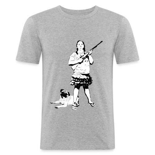 Hillbilly-Girl - Männer Slim Fit T-Shirt