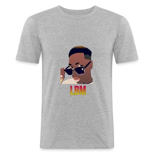 Logo et écriture Lbm - T-shirt près du corps Homme