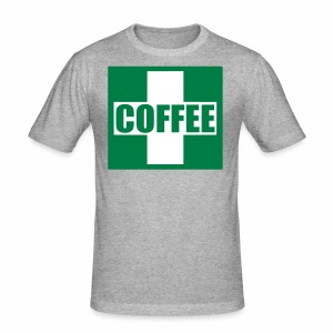 Emergency Coffee - Men's Slim Fit T-Shirt