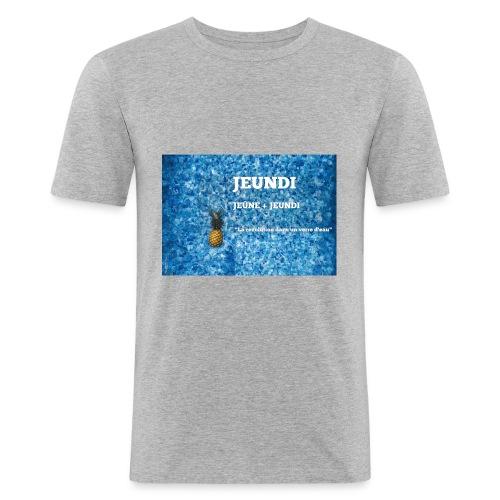 JEUNDI - T-shirt près du corps Homme