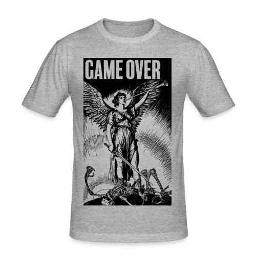 Game Over - T-shirt près du corps Homme