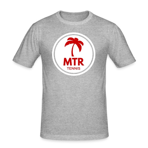 MTR Tennis White - Men's Slim Fit T-Shirt