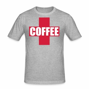 First Aid Coffee - Men's Slim Fit T-Shirt