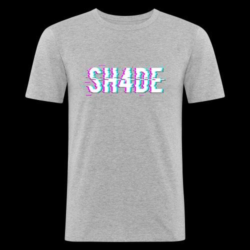 SH4DE. - Men's Slim Fit T-Shirt