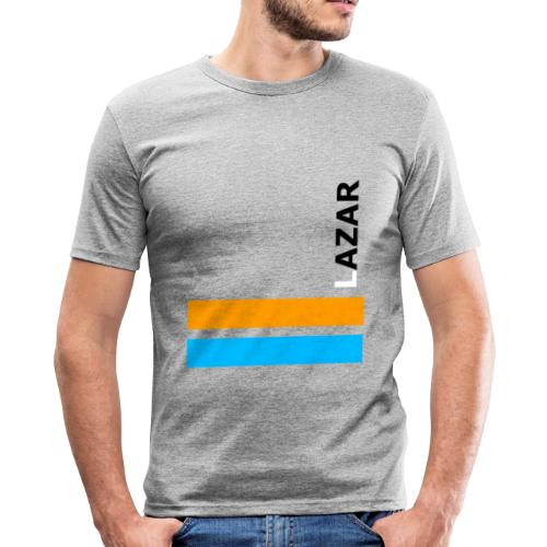 LAZAR - Männer Slim Fit T-Shirt