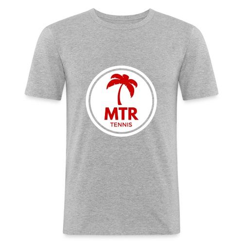 MTR Tennis White - Men's Slim Fit T-Shirt