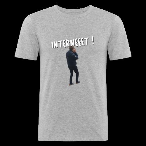 Interneet - T-shirt près du corps Homme