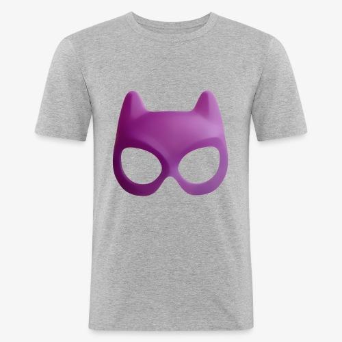 Bat Mask - Obcisła koszulka męska