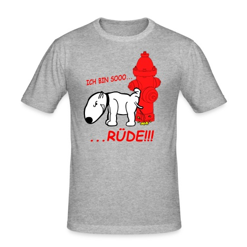 Rüden-Verhalten - Männer Slim Fit T-Shirt