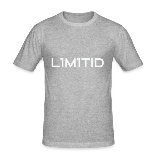 L1M1TID Official Tee - Slim Fit T-skjorte for menn