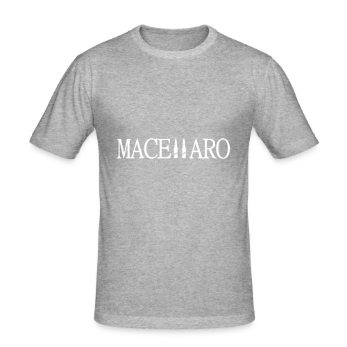 MARCELLARO T-SHIRT - Herre Slim Fit T-Shirt