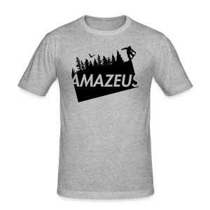 AmaZeus Board - Männer Slim Fit T-Shirt