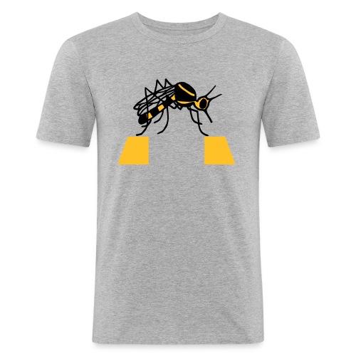 Zanzarra - Maglietta aderente da uomo