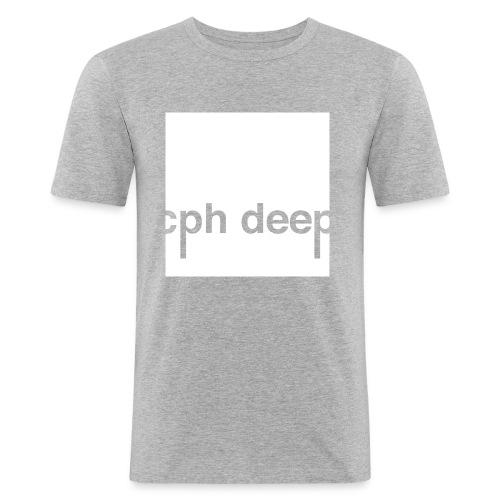 Logo All White - Herre Slim Fit T-Shirt