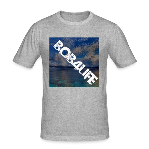 the design is chill. - Men's Slim Fit T-Shirt