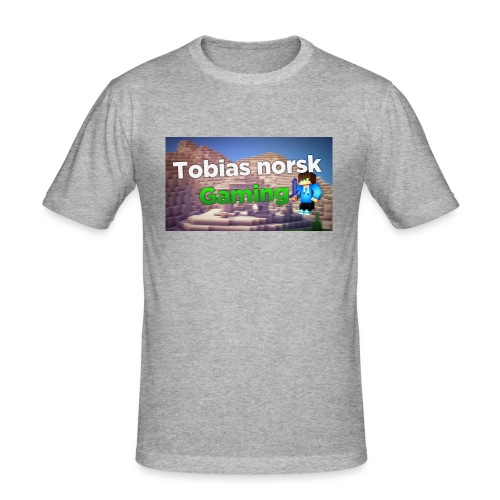Tobias Norsk Gaming - Slim Fit T-skjorte for menn