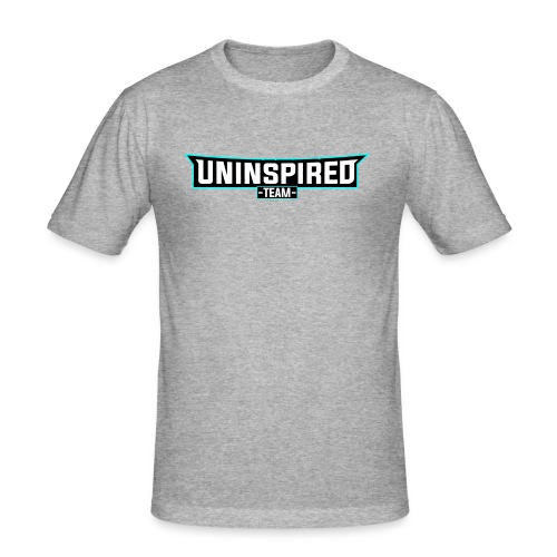 Team Uninspired - Männer Slim Fit T-Shirt
