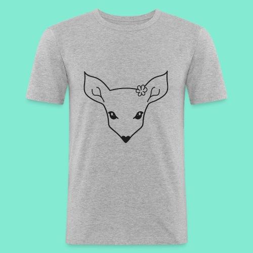 little fawn t-shirt - Maglietta aderente da uomo