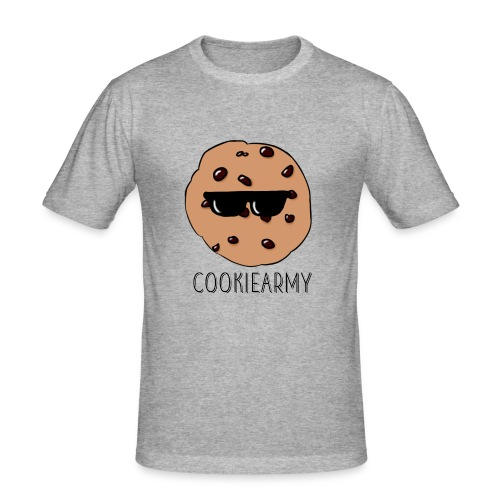 CookieArmy2 - Männer Slim Fit T-Shirt