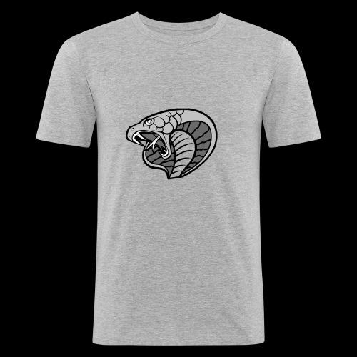 Logo für die Crew und das Team - Männer Slim Fit T-Shirt